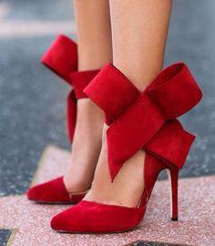 sexy womens big bow knot sandals pointed toe high heel stilettos wedding shoes #New #Stilettos