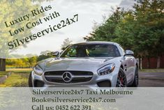 Silverservice24x7 offers #Affordable #Luxury #Cabs in #Melbourne Call us for booking at 0452 622 391 or Book@silverservice24x7.com