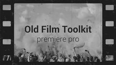 Check out Old Film Toolkit here: https://motionarray.com/motion-graphics-templates/old-film-toolkit-35346 #videoediting #motionarray