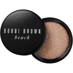Bobbi Brown Beach Shimmer Powder ($45) ❤ liked on Polyvore featuring beauty products