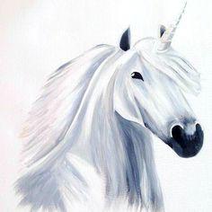 Unicorn Acrylic on Canvas