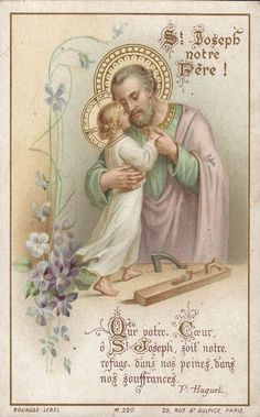 Wednesday is dedicated to St. Joseph... Let your heart O St. Joseph, be our refuge in our sorrows, our suffering
