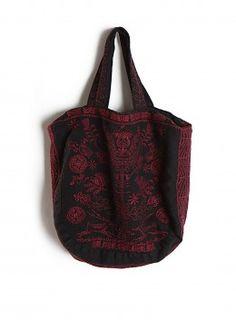JWLA Jada Large Linen Bucket Bag