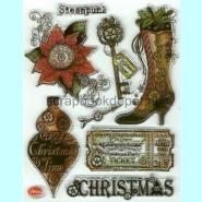 Viva Decor Clear Stempel - Steampunk Christmas