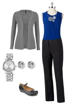 """Business Casual on a Budget"" by tabjoy on Polyvore"