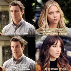 """#PLL 7x03 """"The Talented Mr. Rollins"""" - Hanna, Spencer and Elliot"""