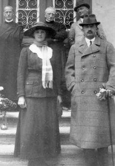 Kaiser Karl und Kaiserin Zita von Österreich