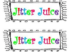 """""""First Day Jitters"""" put label on Sprite and add colorful round sprinkles to jump around in the Sprite."""
