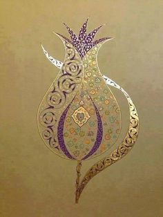 uploaded by user tezhip Islamic Art Pattern, Pattern Art, Illuminated Letters, Illuminated Manuscript, Arabesque, Motifs Islamiques, Illumination Art, Turkish Art, Arabic Art