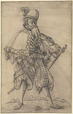 Jost Amman, 1556 Offizier im Range eines «Obersten Feldprofoss» der kaiserlichen Armee - SIKART Dictionary and database