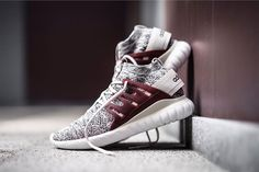 Get Excited for the adidas Originals Tubular Nova Primeknit Colorway in Maroon http://www.95gallery.com/