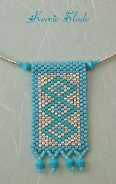 Explore Kerrie Slade& photos on Photobucket. Peyote Stitch Patterns, Seed Bead Patterns, Jewelry Patterns, Beading Patterns, Bead Loom Bracelets, Peyote Beading, Bijoux Diy, Beading Projects, Beads And Wire