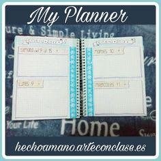 #Semana #2 de #enero #2017 my #planner #bujo #bulletjournal #weekly #agenda