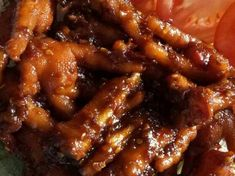 Nyam Ini Dia Resep Ceker Gongso Pedas Manis Enaknya Kebangetan Indonesian Food, Hot Dog, Easy Cooking, Chicken Wings, Menu, Rice, Foods, Menu Board Design, Food Food