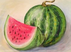 About Kids Art On Pinterest Watermelon How To Draw And Step By