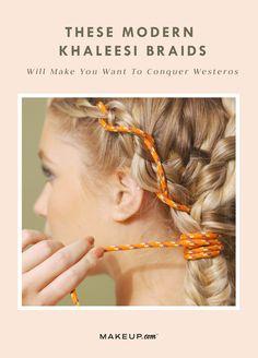 #khaleesi #GameOfThrones #hairstyle #braids #braidstyles #got #halloween2017 #halloweenhair #braidideas #tutorial