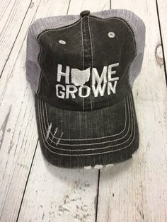 info for 22bf0 49a01 Home Grown - Ohio Embroidered Trucker Hat