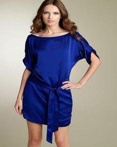 Blue Evening Dresses 2012 Girlie Style, My Style, Silk Charmeuse, Refashion, Diane Von Furstenberg, Evening Dresses, Fashion Dresses, Fashion Styles, Russia