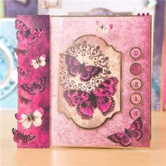 Hunkydory Flight of the Butterflies - Jewelled Edition Luxury Card Collection…