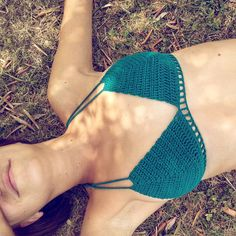 V Crochet Bikini by spelaskvarc on Etsy