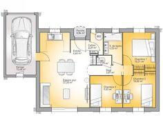 plan maison trecobat | Maison de plain pied | Pinterest