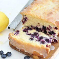 How to Make a Moist Blueberry-Lemon Pound Cake with Lemon Glaze by Cooki...