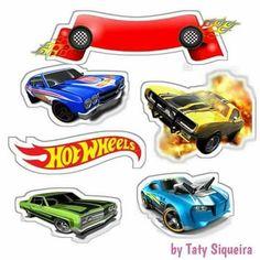 Bolo Hot Wheels, Hot Wheels Cake, Hot Wheels Party, Race Car Cakes, Hot Wheels Birthday, Disney Cars Party, Birthday Backdrop, Toy Story Birthday, Backdrops For Parties