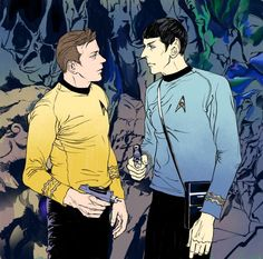 James T. Kirk & Spock, Spirk || Star Trek TOS