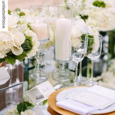 We can't help falling in love with this breathtaking design on #weddingwednesday. Be sure to check out all the details of this incredible shoot on @unitedwithlove! So proud to be part of the talented team that brought this look to life. #Repost  Garden dining al fresco @dumbartonhouse by @cheersdarlingdc & @kthompsonphotography by partyrentalltd