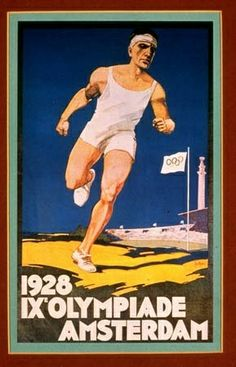 1928 Olympic Games in Amsterdam