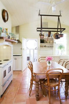 French provincial or Australian country style kitchen