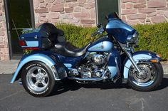 Bike was triked out with champion kit by Longhorn in Ardmore Oklahoma. Harley Davidson Trike, Harley Davidson Touring, Ardmore Oklahoma, Electra Glide Ultra Classic, Trike Motorcycle, Best Model, Motorbikes, Biker, Motorcycles