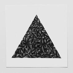 Pyramid 2, Pencil drawing, 2014 October