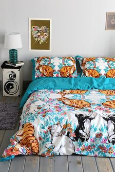 Plum & Bow Cat Kaleidoscope Duvet Cover #urbanoutfitters