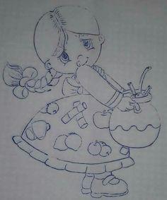 La niña del ponche