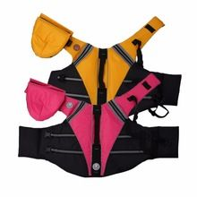2017 New Oxford Breathable Mesh Pet Dog Life Jacket Summer Dog Swimwear Puppy Life Vest Safety Clothes For Dogs(China)