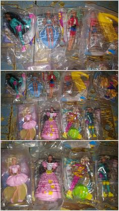 Barbie McDonalds Toys, Vintage, free shipping by TheRecycledGreenRose on Etsy