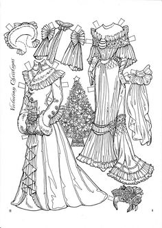 A Victorian Christmas Paper Doll by Charles Ventura (6 of 9) | Cindy Rice | Picasa Webalbum