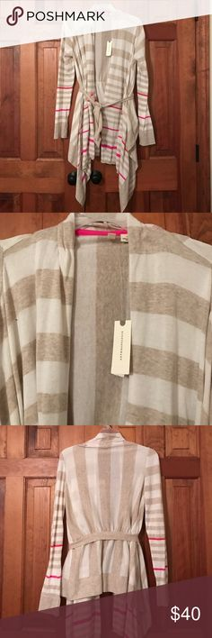 🆕NWT Anthropologie Moth Tie Waist Sweater Brand new with tags, extremely soft! Anthropologie Sweaters