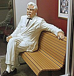 """Colonel Sanders"" artist Kay Novy (kkphoto1).  Please visit my website....  http://fineartamerica.com/profiles/kay-novy.html"