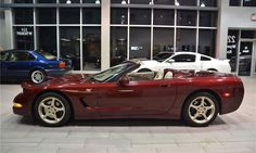 2003 Chevrolet Corvette (C5) 50th Anniversary edition! (RPO Z25) 5.7L (350 Cu-In) V8 350 hp! Only 87,792 km! 1 Of 7,547 convertibles and 1 of only 3,892 with 6 Speed Manual Transmission! F55 magnetic selective ride control suspension. Finished in beautiful 50th anniversary red over shale two-tone leather interior, (warm nickel metallic) factory painted aluminum wheels, fully loaded, power windows, power locks, Bose sound system, HUD, owners manual, two sets of keys and much more!