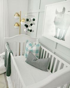 A Sweet Baby Rhino Inspired This Stunning E Blue Nurserybaby Boy Nursery Themessafari