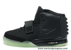 Nike Air Yeezy II Black Men Shoes Outlet