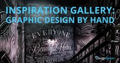 Inspiration Gallery: Graphic Design by Hand