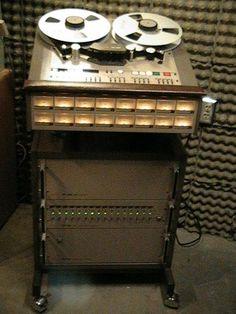 "Tascam Model 85-16B  16 track 1"" reel to reel recorder"