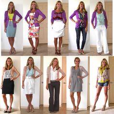 J's Everyday Fashion: Flashback Friday: Colorful Cardigans