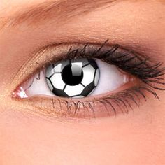 Soccer contacts; If I ever need contacts, I am getting these ones!
