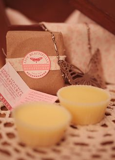 Solid Lotion Bars Sweet Strawberry Honeysuckle by thewildasins, $8.00