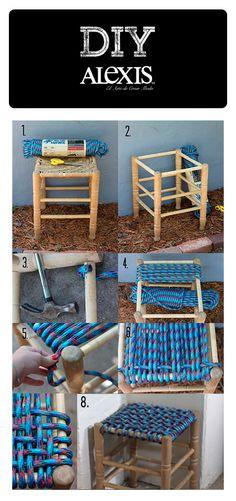 Una forma fácil de tener un nuevo mueble para tu casa. ¿Te animas? #DIY
