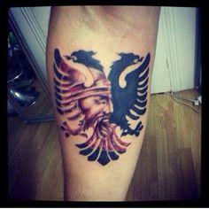 albanian eagle tattoo idea tattoo pinterest ideas eagle tattoos and tattoo ideas. Black Bedroom Furniture Sets. Home Design Ideas